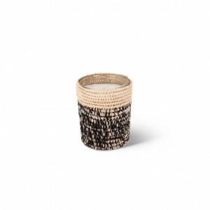 Rita scented candle from the raffia collection Small size