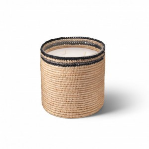 Janna scented candle from the raffia collection Large size
