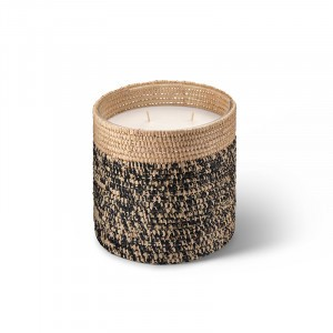 Rita scented candle from the raffia collection Large size