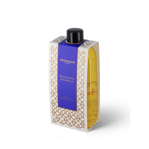 reed diffuser refill with Mandarine majorelle scent
