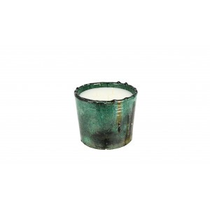 scented candle from the Tamegrout collection in pottery candle holder Medium size