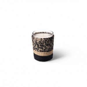Mogador scented candle from the raffia collection Small size