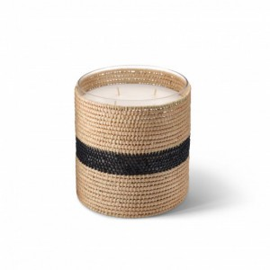 Zayna scented candle from the raffia collection Large size