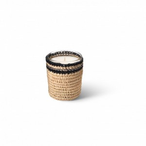 Janna scented candle from the raffia collection Small size