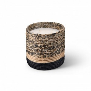 Mogador scented candle from the raffia collection Large size