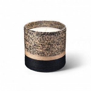 Mogador scented candle from the raffia collection XLarge size