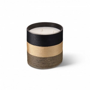 Nelia scented candle natural from the Sabra collection Large size