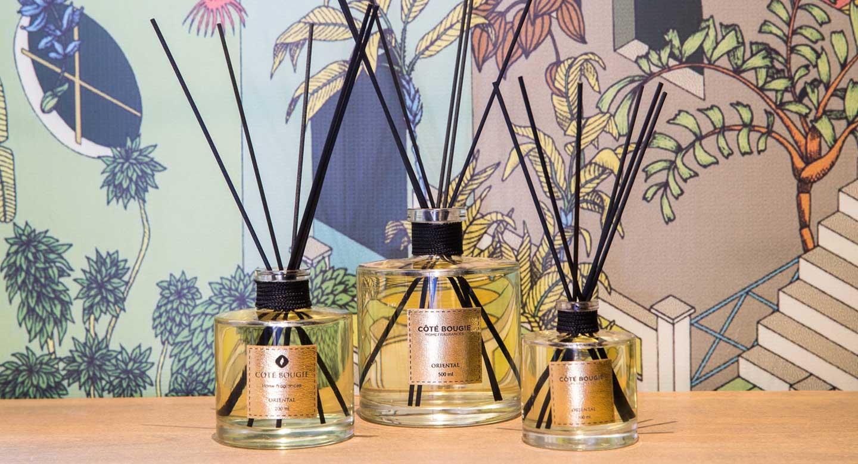 collection de parfums d'ambiance